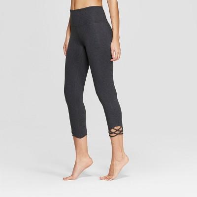 Women's Comfort High-Rise 3/4 Knotted Leggings  - JoyLab™
