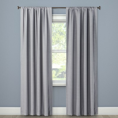 63 x50 henna blackout curtain panel gray project 62