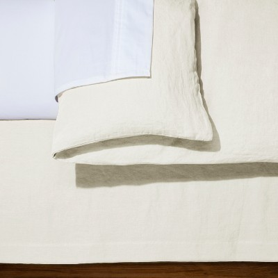 Solid Linen Bed Skirt - Fieldcrest®