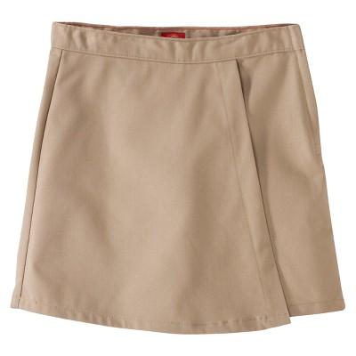 Dickies® Girls' Faux Wrap Skort