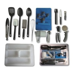 Kitchen Tool Set Cabinets Financing 30pc Utensil Room Essentials Target About This Item