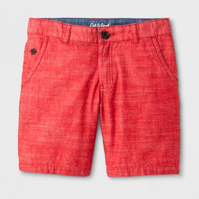 Boys' Chino Shorts - Cat & Jack™ Red