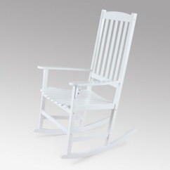Target White Rocking Chair Embroidered Directors Chairs Alston Wood Porch Cambridge Casual