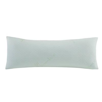 rayon from bamboo memory foam body pillow