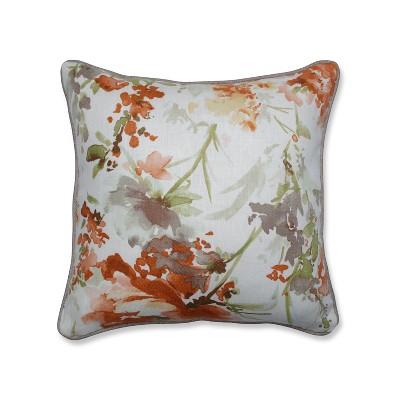 Pillow Perfect Pretty Perennials Throw Pillow