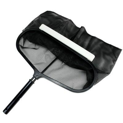 "Pool Central Deep Bag Swimming Pool Leaf Rake Head 20"" - Black"