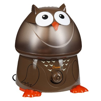 Crane Adorable Owl Ultrasonic Cool Mist Humidifier - 1gal