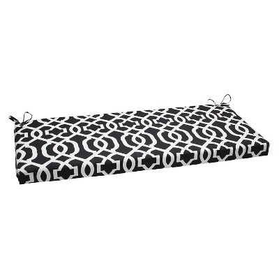 outdoor seat pillow perfect bench cushion black white
