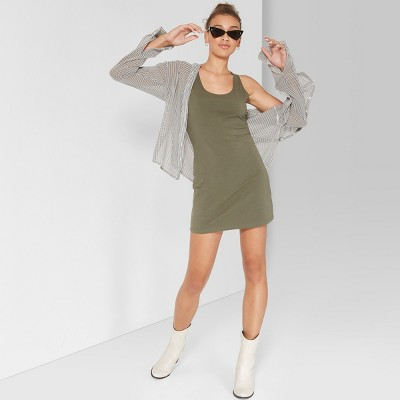 Women's Sleeveless Knit Tank Dress - Wild Fable™