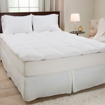 "Duck Feather 2"" Gusset Mattress Topper - Yorkshire Home®"