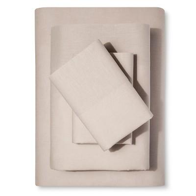 Washed Linen-Cotton Blend Sheet Set - Loft New York
