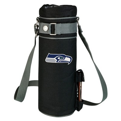 Seattle Seahawks - Wine Sack Beverage Tote by Picnic Time (Black)
