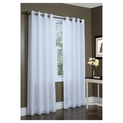 Thermavoile™ Rhapsody Lined Grommet Top Curtain Panel