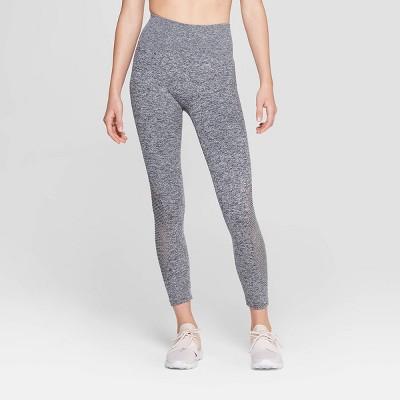 Women's Seamless 3/4 Laser Cut Mid-Rise Leggings - JoyLab™