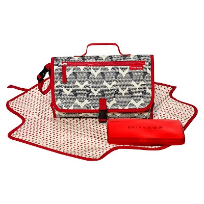 Skip Hop Pronto Baby Changing Station & Diaper Clutch, Hearts