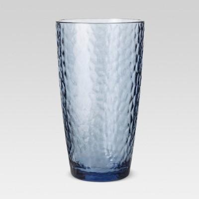 Plastic Textured Tall Tumbler 18oz Blue - Threshold™