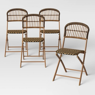 aster 4pk folding patio chairs opalhouse