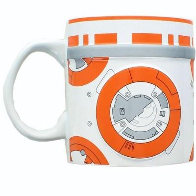 Star Wars 2D Relief BB-8 20oz Ceramic Coffee Mug