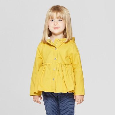 Toddler Girls' Fisherman Trench Jacket - Genuine Kids® from OshKosh Yellow