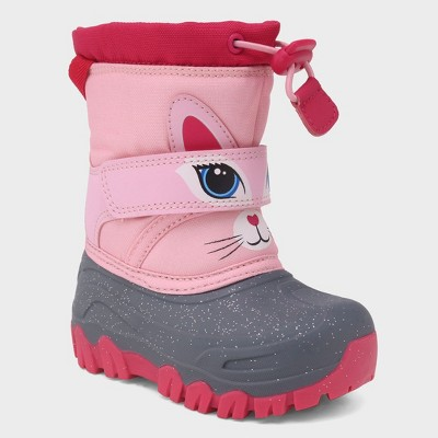 Toddler Girls' Leva Unicorn Winter Boots - Cat & Jack™