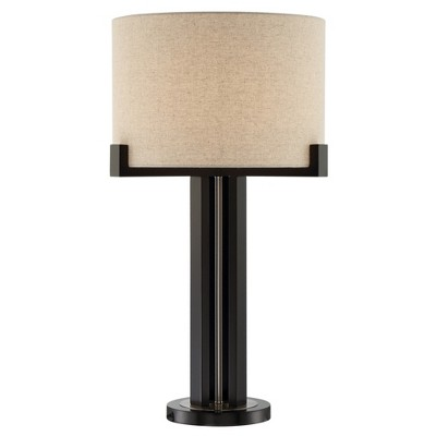 Barend Table Lamp Dark Walnut (Lamp Only) - Lite Source