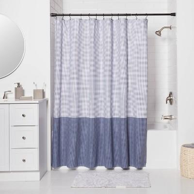 shower curtain rod black target