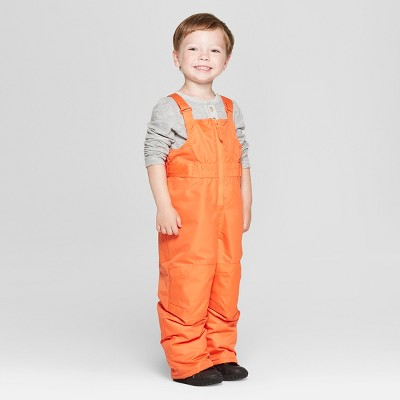Toddler Boys' Snow Pants - Cat & Jack™ Orange