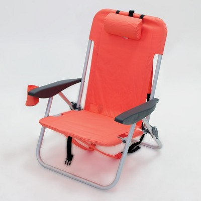 backpack beach chair target baby swing argos 2pk low folding coral room essentials