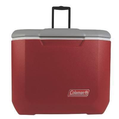 Coleman® 60qt C-Tec Performance Wheeled Cooler - Red