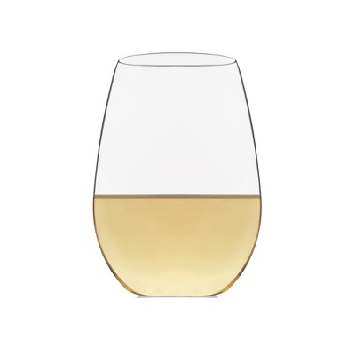 Libbey Signature Kentfield Stemless White Wine Glasses 21oz - Set of 4