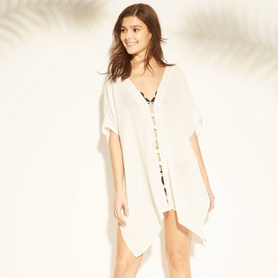 Women's Strappy Front Kaftan Cover Up - Xhilaration™ White