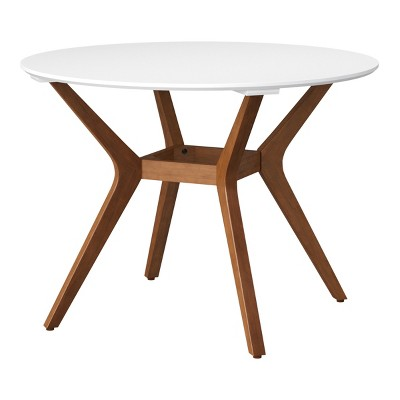 42 emmond mid century modern round dining table natural white project 62