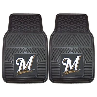 MLB Fan Mats 2pc Vinyl Car Mat Set