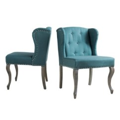 Dark Teal Accent Chair Stool Type Niclas Set Of 2 Christopher Knight Home Target A Green Circle With White Checkmark In The Center
