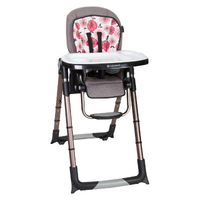 baby trend high chair recline antique leather go lite 5 in 1 feeding center rose gold target
