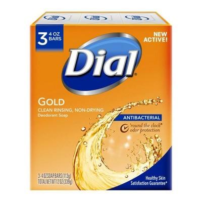 dial antibacterial deodorant gold