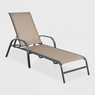 patio lounge chairs target chair covers for dining room uk stack sling chaise tan threshold about this item