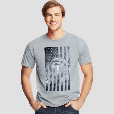 Hanes Men's Short Sleeve Graphic T-Shirt - America Collection