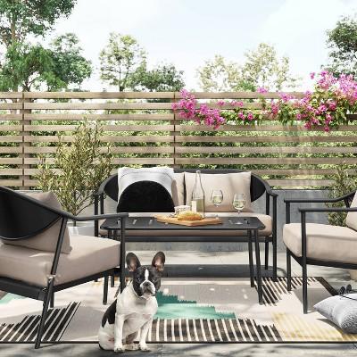 dekker deep seating patio set project