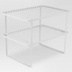 Kitchen Storage Racks Cart Holders And Dispensers White Threshold Target