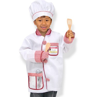 Melissa & Doug® Chef Role Play Costume Dress -Up Set With Realistic Accessories