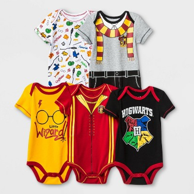 Baby Warner Bros. Harry Potter 5pk Bodysuits