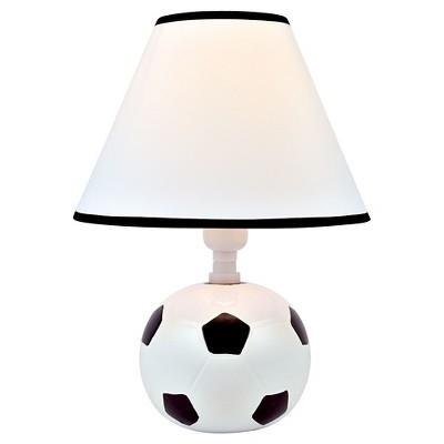 Lite Source Kick Me 1 Light Table Lamp - Soccer