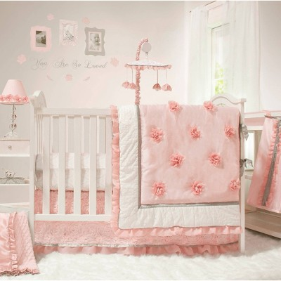 the peanutshell arianna crib bedding set 4pc