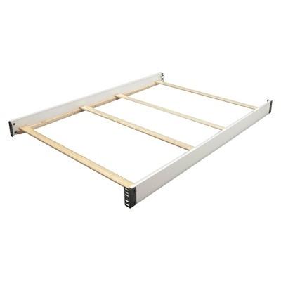 Simmons Kids SlumberTime Full Size Crib Conversion Rails - Madisson - White Ambiance