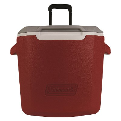 Coleman 28qt C-Tec Performance Wheeled Cooler - Red