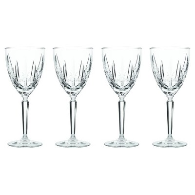Marquis by Waterford Sparkle Crystal Goblets 10oz - Set of 4