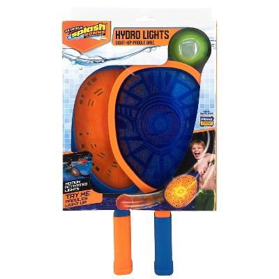 Splash Bombs® Hydro Lights Light-up Paddle Ball Set