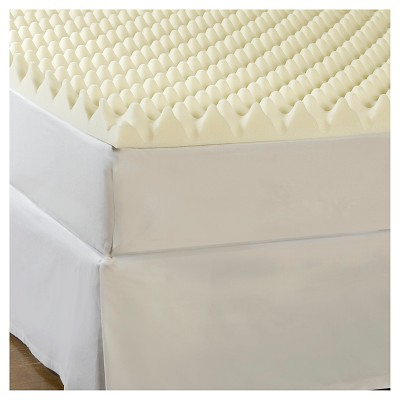 "ComforPedic Loft from Beautyrest 3""Big Bump memory foam topper"