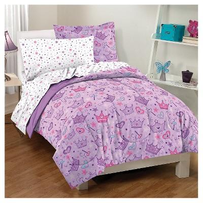 Dream Factory® Stars & Crown Mini Bed-in-a-Bag